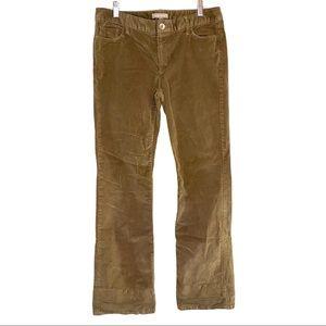 BananaRepublic Stretch straight leg corduroy pants